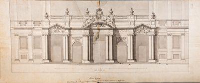 Chiesa di Santa Maria Maggiore, portico della facciata