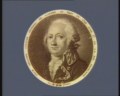 Adam Philippe Custine général de l'armée du Rhin en 1792 l'an 1er de la Rép. française [estampe]