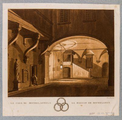 Casa di Michelangelo. Cortile