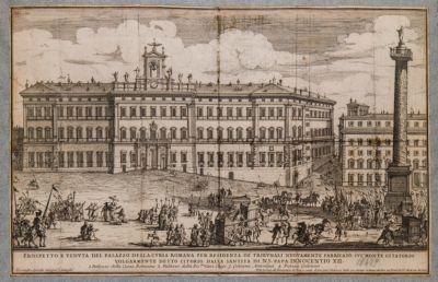 Palazzo di Monte Citorio, prospetto