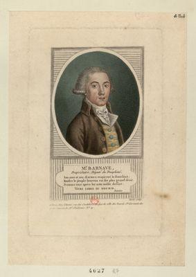 Mr Barnave proprietaire, député du Dauphiné : [estampe]