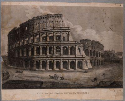 Colosseo, esterno. Veduta generale