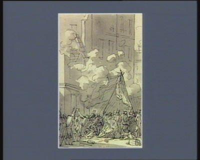 [Evénement du treize décembre 1789] [dessin]
