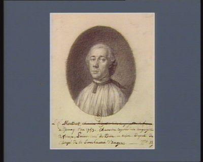L.F. Martinet [né] à Epernay l'an 1753, chanoine regulier de la congrégation de <em>France</em>, prieur-curé de Daon en Anjou, deputé du clergé de la senechaussée d'Angers : [dessin]