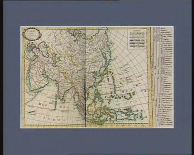 L' Asie divisée en ses principaux etats [estampe]