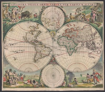 California as an Island in Maps Spotlight at Stanford