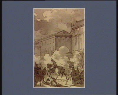 [Cinquième événement du cinq octobre <em>1789</em>] [dessin]