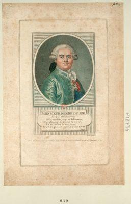 Monsieur frere du Roi, né le 17 novembre 1755 [estampe]