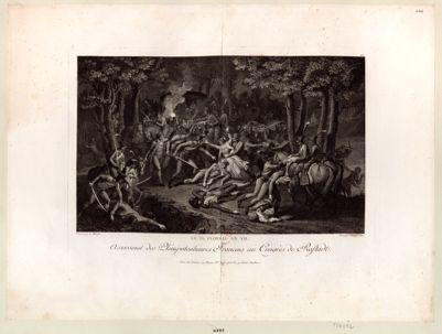 Le I X floréal an VII assassinat des plenipotentiaires français au congrès de Rastadt [estampe]
