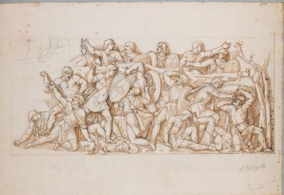 Colonna Traiana, bassorilievi