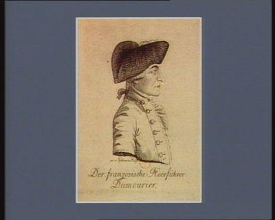 Der  Französische Heerführer Dumourier [estampe]