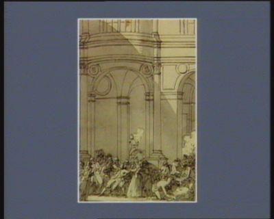 [Premier événement du cinq octobre <em>1789</em>] [dessin]