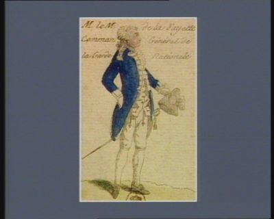 M. le m. de La Fayette comman. général de la Garde nationale [estampe]