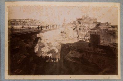 Castel S. Angelo e ponte Elio, spalla sinistra
