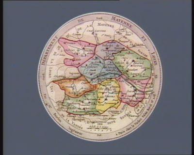 Departement de Mayenne [i.e. Maine] et Loire [estampe]
