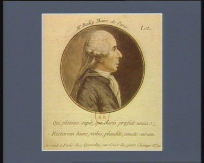 Mr Bailly maire de Paris [estampe]