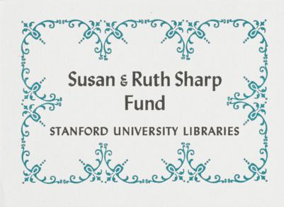 Susan and Ruth Sharp Fund