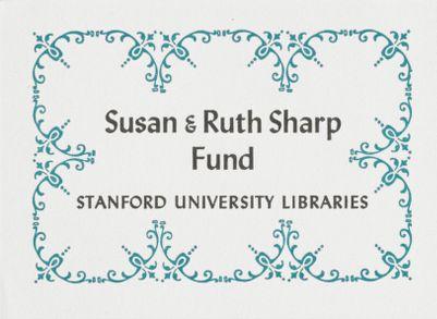 Susan and Ruth Sharp Fund