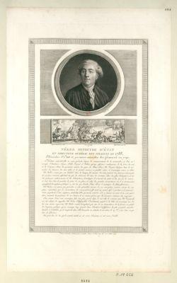 Nécker ministre d'Etat et directeur général des finances en 1788 [estampe]