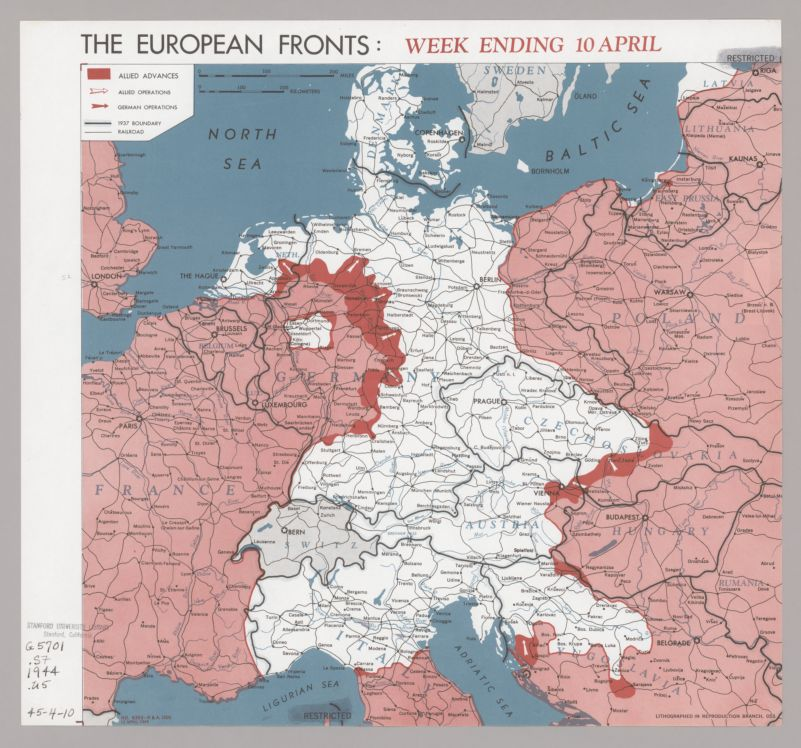 The European fronts