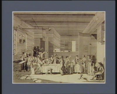 Interieur d'un comité revolutionnaire (Paris 1793) [estampe]