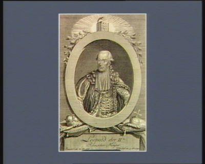 Leopold der IIte Romischer Kayser erwählt am 30 7.br. <em>1790</em> gekröhnt am 9 8.br. <em>1790</em> : [estampe]