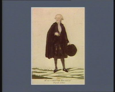 Mr le comte de Mirabeau, deputé d'Aix [estampe]