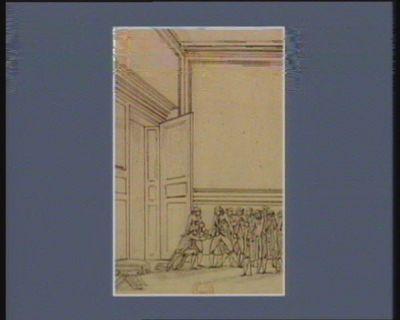 [Evénement de la nuit du quatorze au quinze juillet 1789] [dessin]