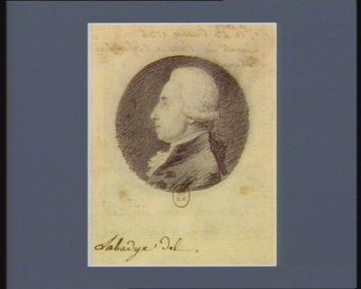 Alexandre Nicolas Lemoine né a <em>Paris</em> le 23 octobre 1736 deputé de <em>Paris</em> à l'Assemblée nationale : [dessin]