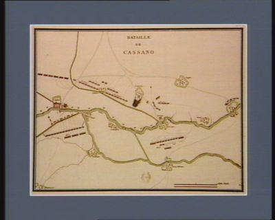 Bataille de Cassano [estampe]