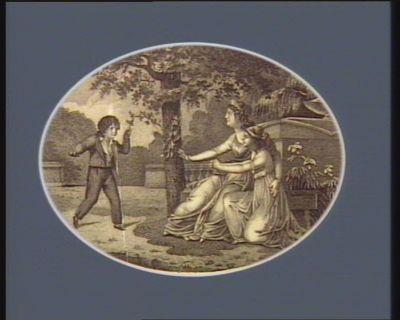 [Le  Dauphin au Temple] [estampe]