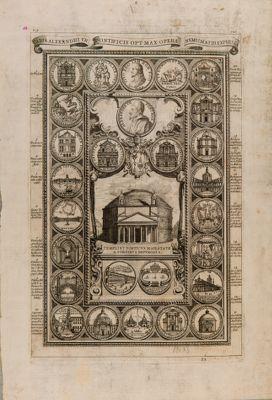 Templi et Porticus maiestate a sordibus repurgata, Pantheon
