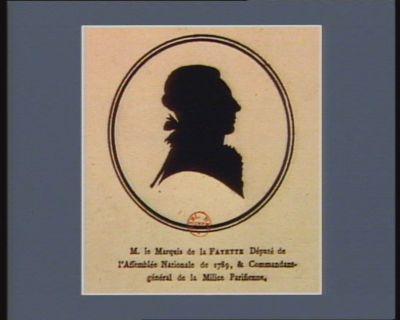 M. le marquis de La Fayette député de l'Assemblée nationale en 1789, & commandant-général de la Milice parisienne : [estampe]