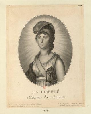 La  Liberté patrone des Français [estampe]