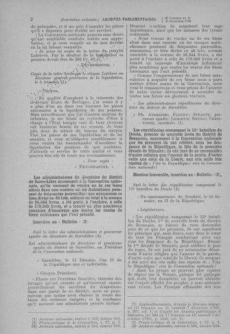 Tome 81 : Du 6 au 19 décembre 1793 - page 2