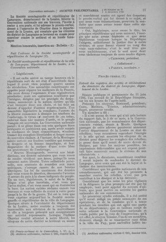 Tome 81 : Du 6 au 19 décembre 1793 - page 11