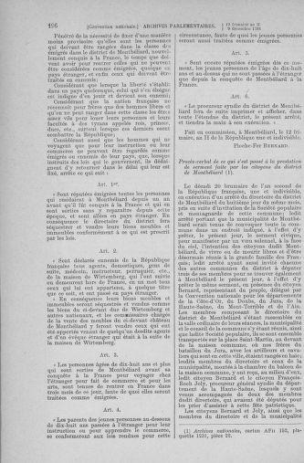 Tome 81 : Du 6 au 19 décembre 1793 - page 196