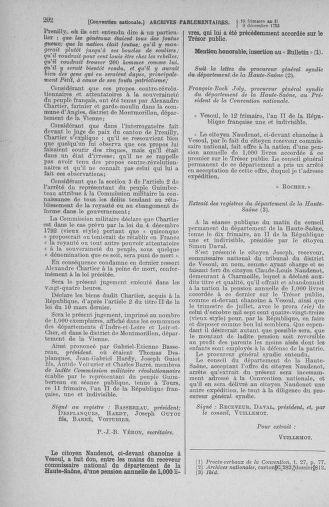 Tome 81 : Du 6 au 19 décembre 1793 - page 202