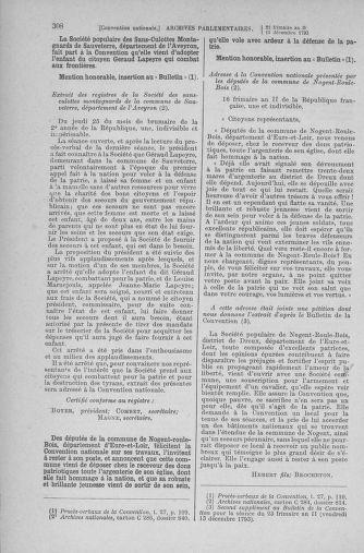 Tome 81 : Du 6 au 19 décembre 1793 - page 308
