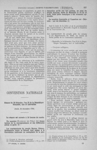 Tome 81 : Du 6 au 19 décembre 1793 - page 337