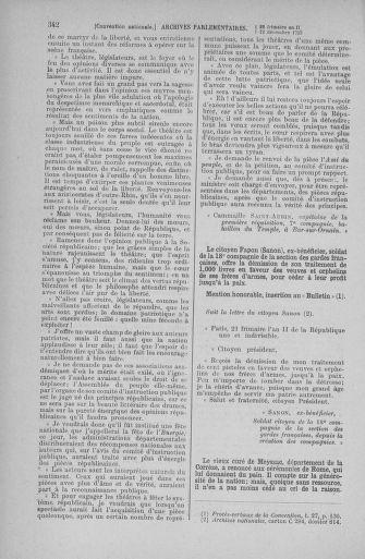 Tome 81 : Du 6 au 19 décembre 1793 - page 342