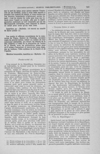 Tome 81 : Du 6 au 19 décembre 1793 - page 349