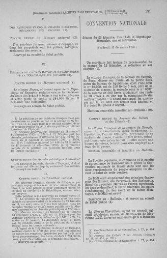 Tome 81 : Du 6 au 19 décembre 1793 - page 391