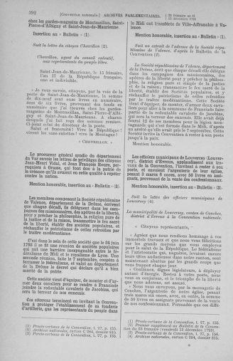Tome 81 : Du 6 au 19 décembre 1793 - page 392