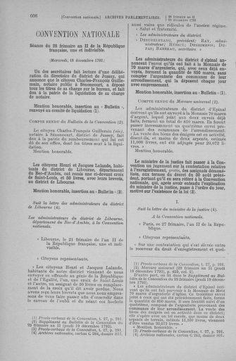 Tome 81 : Du 6 au 19 décembre 1793 - page 608