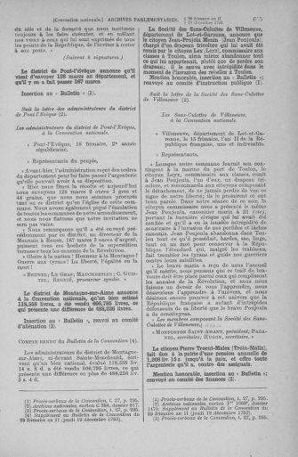 Tome 81 : Du 6 au 19 décembre 1793 - page 615