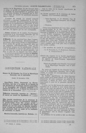 Tome 81 : Du 6 au 19 décembre 1793 - page 673