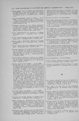 Tome 81 : Du 6 au 19 décembre 1793 - page 772