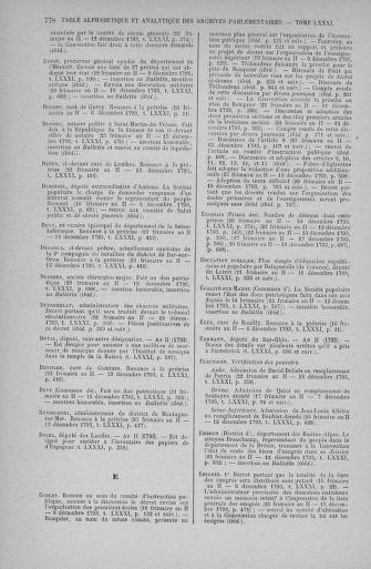Tome 81 : Du 6 au 19 décembre 1793 - page 778