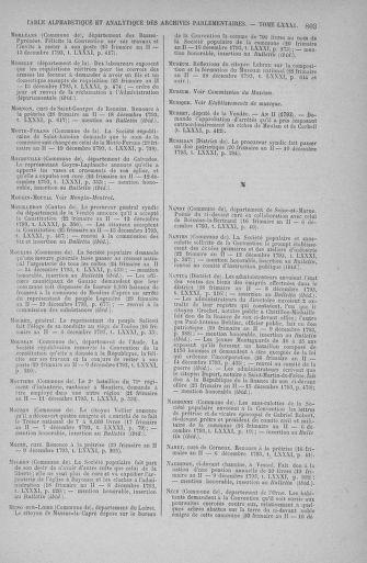 Tome 81 : Du 6 au 19 décembre 1793 - page 803